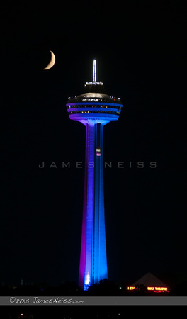Skylon Under a Crescent Moon