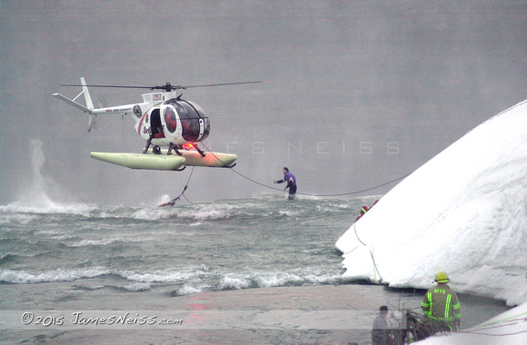 Rescue From Niagara Falls