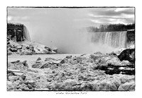Winter Horseshoe Falls